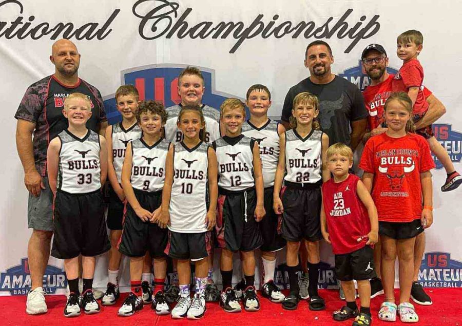 The Harlan County Bulls placed third in the U.S. Amateur National Championships (third-grade division) over the weekend in Knoxville. Team members include Easton Engle, Blake Johnson, Trey Creech, Sam Carmical, Adrian Fields, Carson Sanders, Brycen Saylor, Asher Ewing and Natalie Creech.
