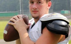 Cade Middleton will lead the Harlan offense this season at quarterback.