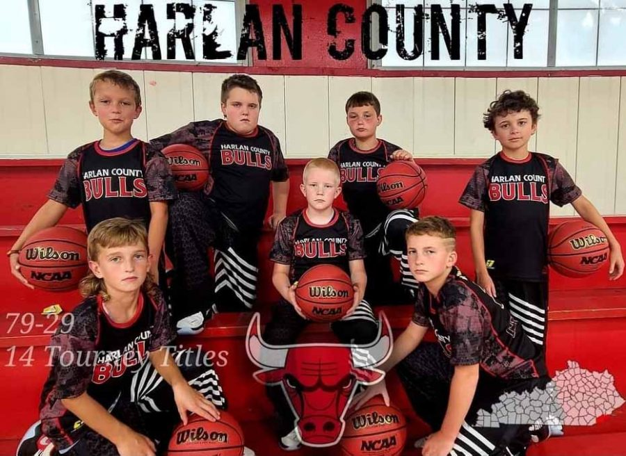 The Harlan County Bulls will play in the U.S. Amateur National Championships (third-grade division) this week in Knoxville. Team members include, from left, front row: Easton Engle, Blake Johnson and Trey Creech; back row: Sam Carmical, Adrian Fields, Carson Sanders and Brycen Saylor; not pictured: Asher Ewing and Natalie Creech.