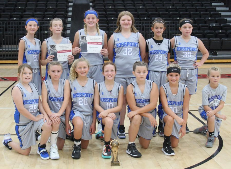 Rosspoint+captured+the+championship+of+the+Black+Bears+Preseason+Tournament+with+three+wins+Saturday+at+Harlan+County+High+School.+Team+members+include%2C+from+left%2C+front+row%3A+Addison+West%2C+Adelynn+Burgan%2C+Aiselyn+Sexton%2C+Jaycee+Simpson%2C+Emily+Cooper%2C+Kennedy+Sturgill+and+manager+Andrea+Napier%3B+back+row%3A+Brooklyn+Daniels%2C+Lauren+Lewis%2C+Shasta+Brackett%2C+Barbara+Osborne%2C+Jaylee+Cochran+and+Caitlyn+Clayborn%3B+not+pictured%3A+Reagan+Clem