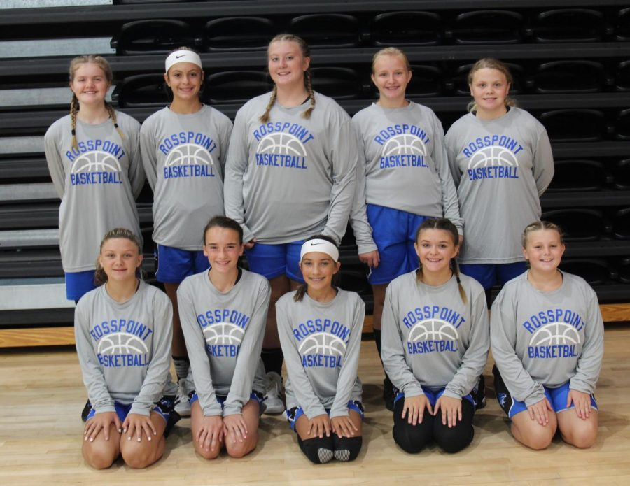 Team members include, from left, front row: Braylee Engle, Sophie Day, Emmalyn Branson, Addison Gray and Maggie Clem; back row: Rhileigh Duff, Madi Nolan, Emma Nolan, Aubree Hensley and Lindsey Skidmore.