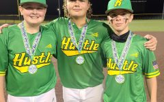 Eli Freyer, Baylor Varner and Brody Owens are members of Kentucky Hustle and played in a tournament over the weekend in Charleston, S.C.