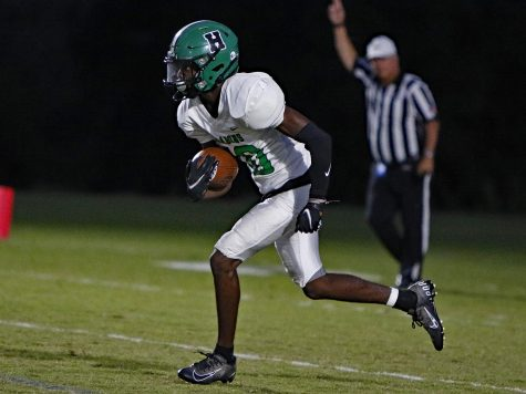 Harlans Darius Akal returned a kick in a game earlier this season. The Green Dragons will travel to Pineville on Friday for a district clash that will determine second place in District 8 of Class A.