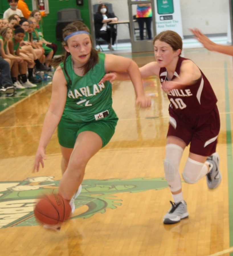 Addison Campbell led Harlan with 19 points as the Lady Dragons defeated Pineville 40-24 in the All A Classic tournament finals on Saturday.