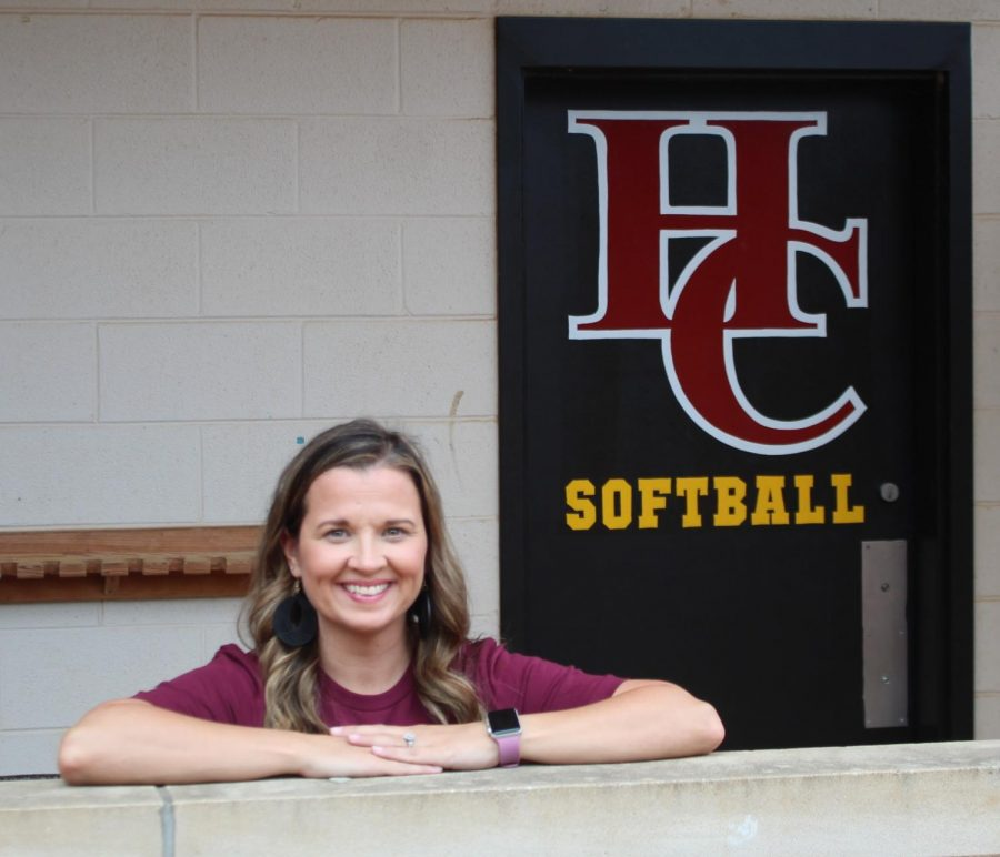 Shelby+Engle+Burton+has+been+named+the+new+softball+coach+at+Harlan+County+High+School.+Burton+has+coached+basketball+at+James+A.+Cawood+Elementary+School+for+the+past+14+years.+She+also+coached+middle+school+softball+for+two+years.