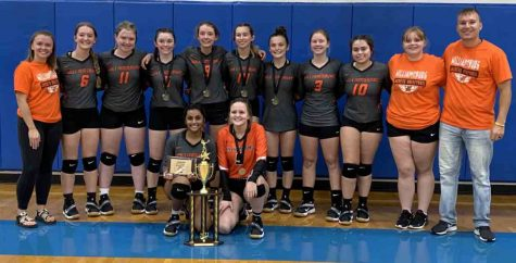 Williamsburg made history on Saturday by capturing the volleyball program's first-ever 13th Region All 'A' Classic championship by defeating Jackson County in the championship game, 23-25, 25-23, 25-12.