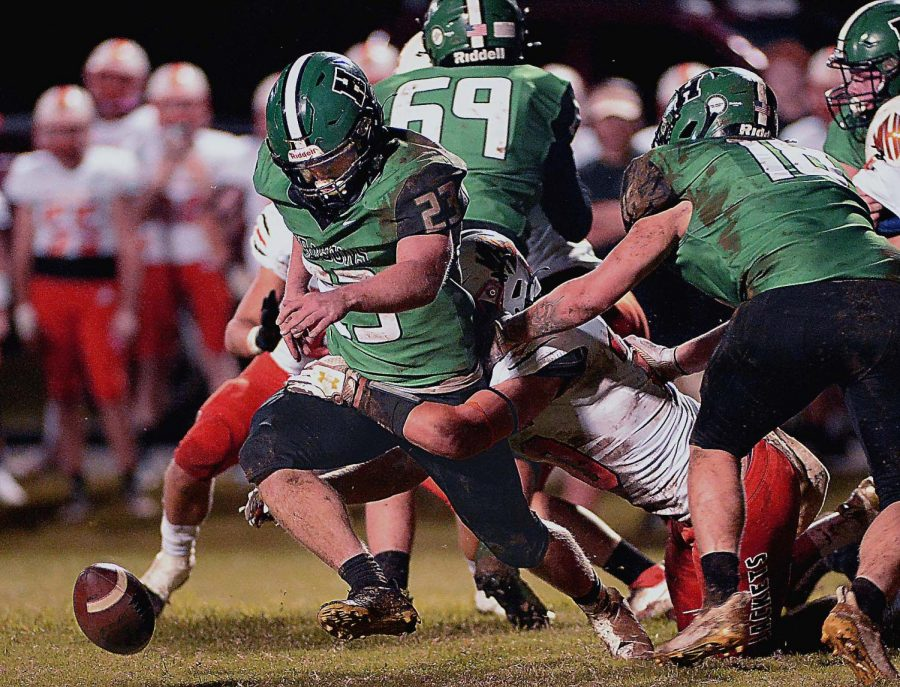 The Williamsburg defense forced a fumble on the games opening drive Friday on the way to a district win at Harlan.