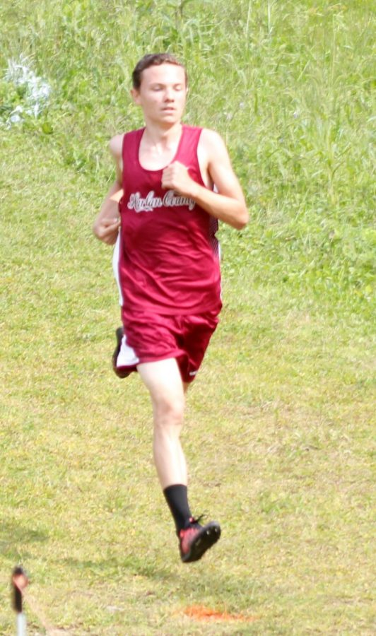 Daniel Joseph led Harlan County runners on Saturday in the Black Bears Invitational and the Area 9 race.